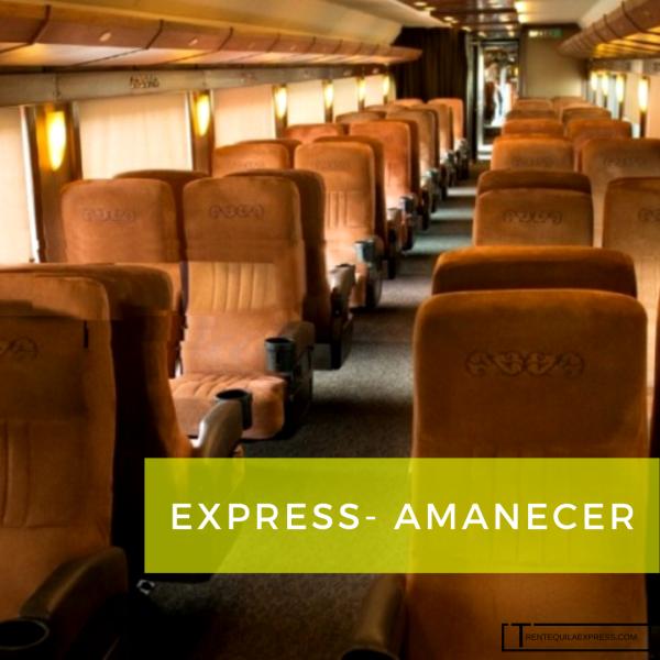 Vagon Express- tren tequila express